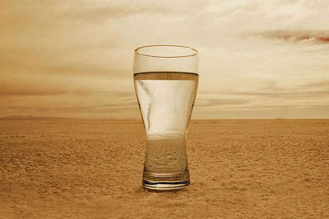 água é necessária