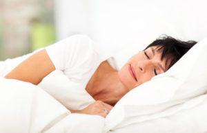 Mulher não sofre com a insônia na menopausa