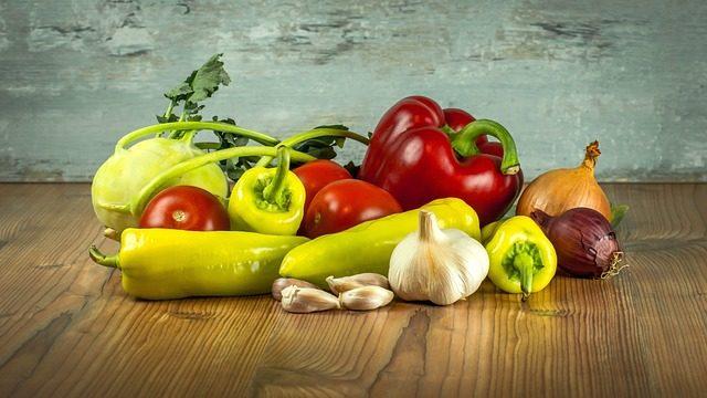 Uma amostra de alimentos inteligentes