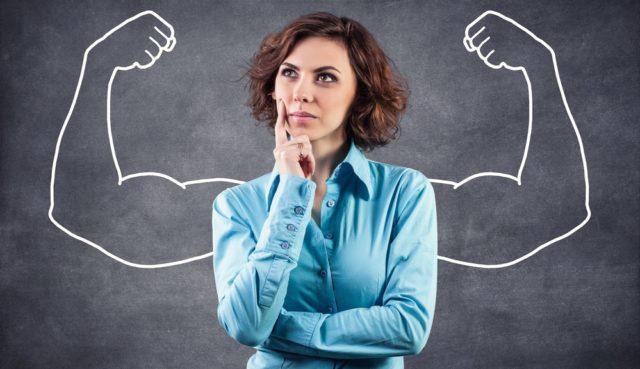 mulher forte quer fortalecer o sistema imunológico
