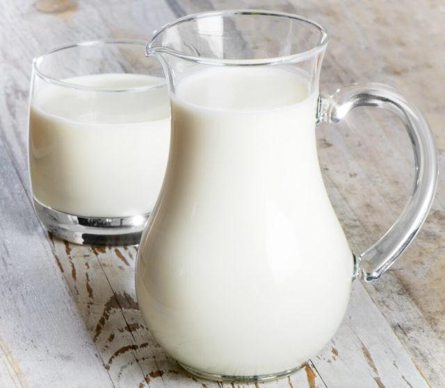 O leite ajuda na falta de cálcio