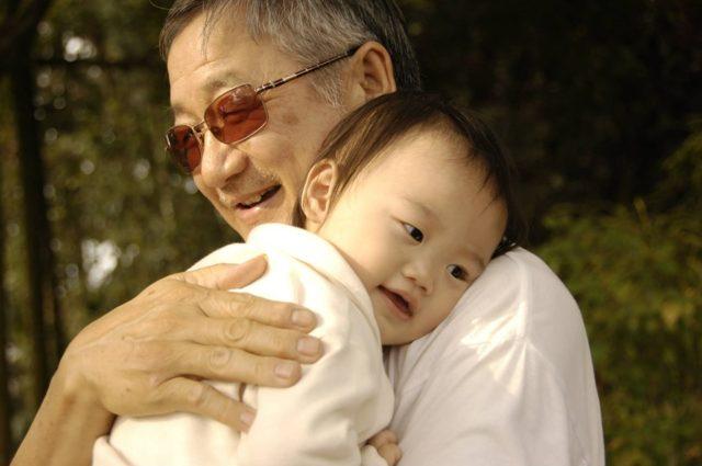 Avô e neto