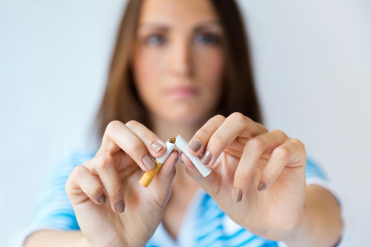 Já que deixar de fumar dias favoráveis