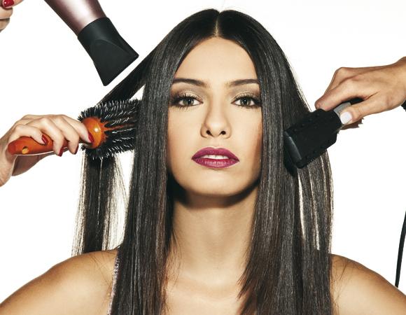 Resultado de imagem para alisamento afeta o cabelo