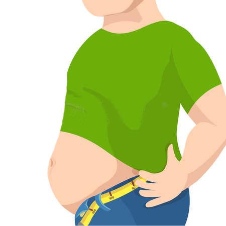 distensao-abdominal-barriga-pochete