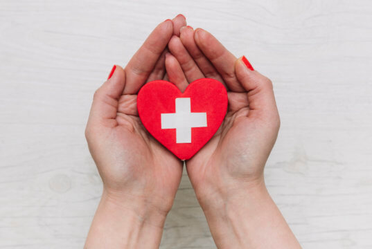 Coração saudável sem colesterol
